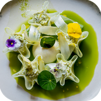 asparagi | kohlrabi | Parmigiano
